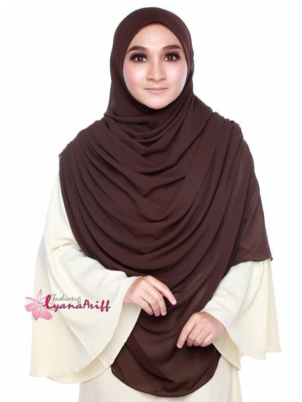 Umrah Banner: Twist Raudhah Dark Brown