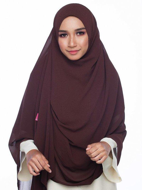 Umrah Banner: Instant Balqis Dark Brown