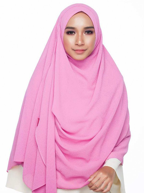 Umrah Banner: Instant Balqis Dusty Pink