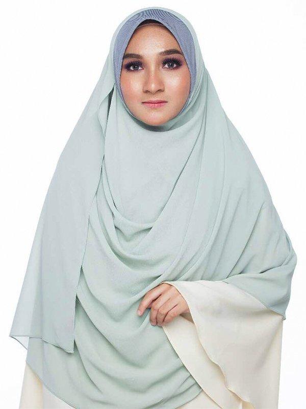 Umrah Banner: Instant Kayla Lilac Green