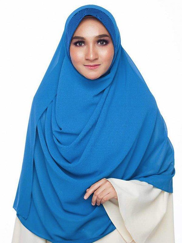 Umrah Banner: Instant Kayla Blue Cyan